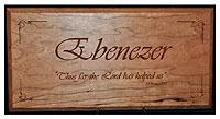 Ebenezer Plaque