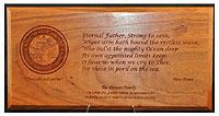 Navy Smith Plaque