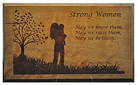 Strong Woman Plaque