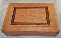 McKenzie Personalized Wood Box