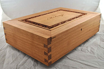 Custom Personalized Wood Box