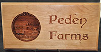 Peden Farms 3D Plaque