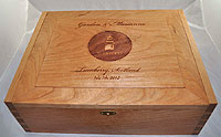 Turnberry Personalized Wood Box