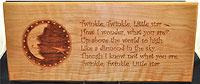 Twinkle Twinkle 3D Plaque